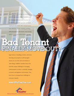 Bad Tenant Finally Move Out?